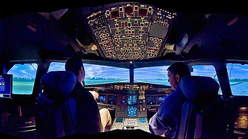 Aucun simulateur de vol ne permet actuellement de retranscrire les paramètres liés à un décrochage.
