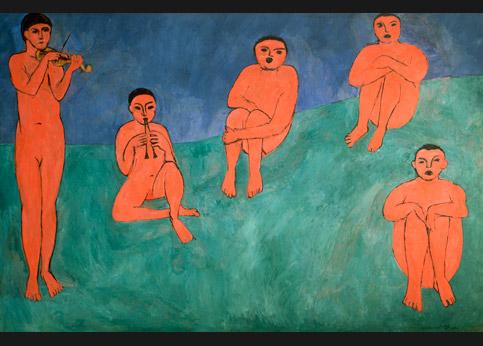 <stro />Matisse, La Musique,</strong> confisquée au collectionneur Chtchoukine, en 1918, déposée à l'Ermitage de Saint-Pétersbourg, aujourd'hui réclamée par l'héritier de Chtchoukine.» /></p><br /> <p=