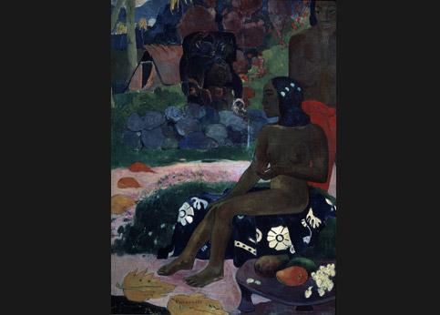 <stro />Gauguin, Jour de repos,</strong> Saint-Pétersbourg, Ermitage. Confisqué dans la collection de SergueïChtchoukine. Réclamé par son héritier.» /></p><br /> <p=