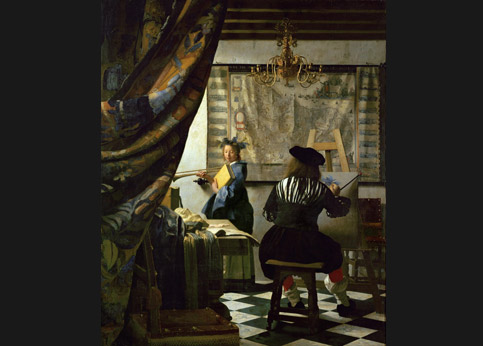 <stro />Vermeer, L'Art de la peinture,</strong> Vienne, Kunsthistorischesmuseum. Acheté par Hitler en 1940 au comte Czernin dont les héritiers réclament aujourd'hui la restitution.» /></p><br /> <p=