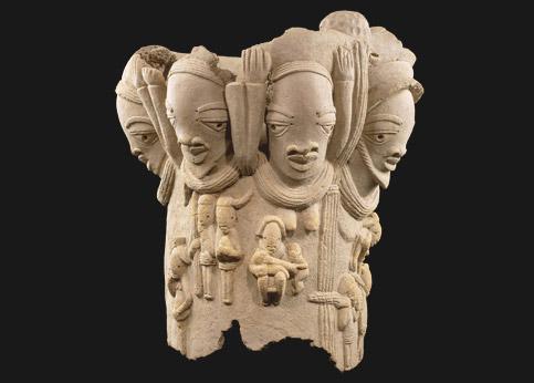 <stro />Têtes de la civilisation nok,</strong> nord du Nigeria, conservées au musée du Quai Branly. Leur exportation est désormais interdite.» /></p><br /> <p=