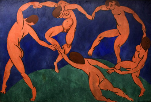 «La Danse» de Matisse, peinte pour un collectionneur privé russe, sera confisquée par Lénine en 1918.