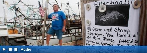 Marée noire : les pêcheurs s'attendent au pire