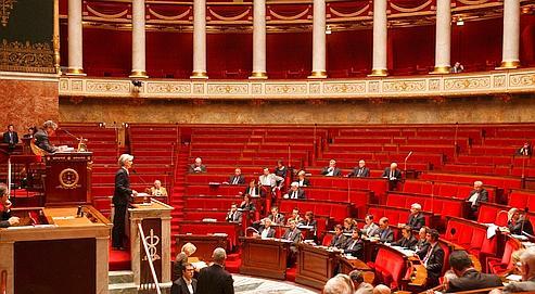 Christine Lagarde a ouvert le débat, lundi soir,à l'Assemblée nationale.