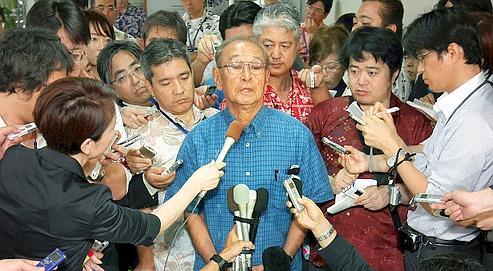 Le Japon renonce à déloger ses GI