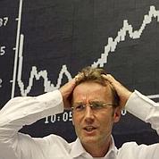 Les Bourses de nouveau sous tension