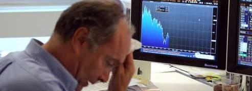 Les Bourses européennes continuent de broyer du noir