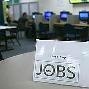 Les créations d'emplois s'accélèrent aux USA