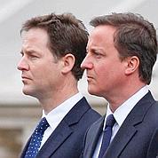 Londres: une coalition âprement négociée