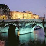 Le musée de la Monnaie, la nuit © Musée de la monnaie de Paris