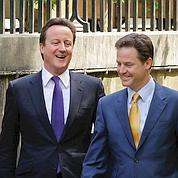 GB : Cameron nouveau premier ministre