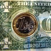 L' euro au plus bas depuis novembre 2008