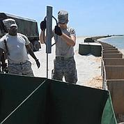 Combat contre la marée noire sur l'île Dauphin