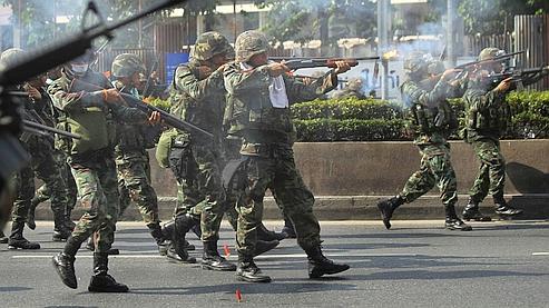 Les autorités ont bloqué tous les accès menant au principal site où sont retranchés les manifestants.