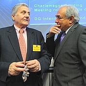 DSK et Trichet prêchent ensemble la rigueur
