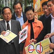 Les démocrates de Hongkong contrariants