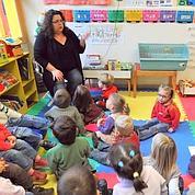 La maternelle lutte contre l'illettrisme