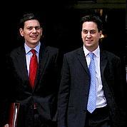 Le duel des frères Miliband