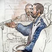 Smain Aït Ali Belkacem lors de son procès, en 2002.