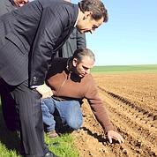 Nicolas Sarkozy vient au secours des agriculteurs