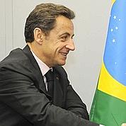 Sarkozy salue son ami Lula à Madrid