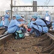 100.000 voyageurs gênés par les infirmiers