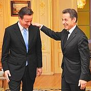 Cameron à Paris pour son 1er déplacement
