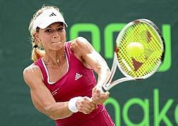 MARIA KIRILENKO. 23 ans - 1,76m - 57 kg .Meilleure amie d'enfance de Sharapova et moscovite comme elle, c'est une valeur montante du tennis féminin : déjà 5 titres pour la grande blonde et 2,3 millions de gains. Joueuse toutes surfaces avec une prédilection pour la terre battue, elle ne devrait pas rester sur son classement 2009 (16e).