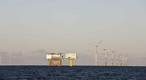 Au Danemark se cache la plus grande ferme à vent du monde