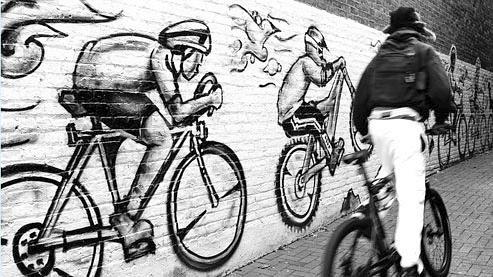 Autoriser les cyclistes à rouler à contre-sens