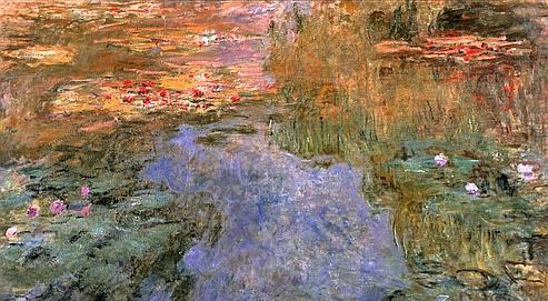 Le bassin aux nympheas de Claude Monet.