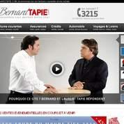 Bernard Tapie se lance dans l'e-commerce