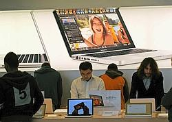 Un Apple Store à Sydney