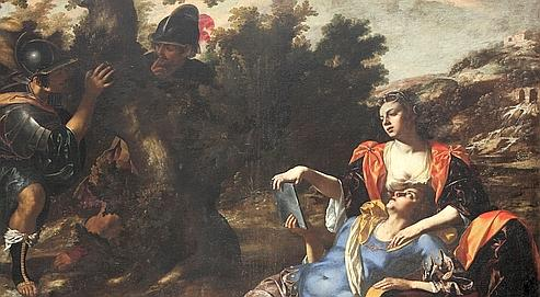 Renaud et Armide dans le jardin enchanté, de Paolo Finoglio.