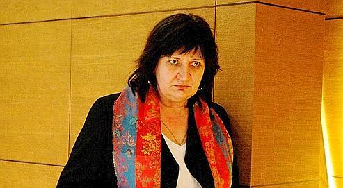 Danièlle Karniewicz, la présidente CFE-CGC du conseil d'administrationde la Caisse nationale d'assurance vieillesse.