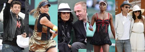 Roland Garros, people sur terre battue
