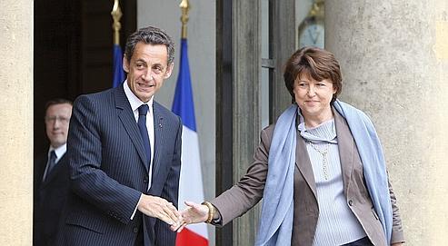 Nicolas Sarkozy avait reçu Martine Aubry en juin 2009, au lendemain des élections européennes. Un an après, l'entourage du président a lancé les hostilités en vue de 2012.