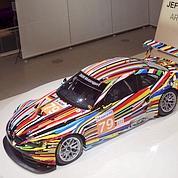 Jeff Koons aux 24 H du Mans