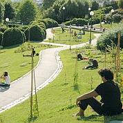 Le Parc de Belleville (Anne Thomas / Mairie de Paris)