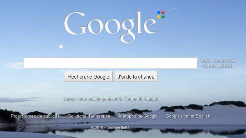 Google retire à la hâte le fond d'écran de sa page d'accueil