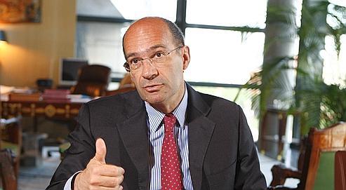 Éric Woerth, ministre du Travail.
