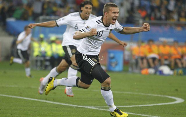 L'Allemagne de Lukas Podolski a réussi son entrée dans la Coupe du Monde 2010