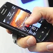 Blackberry prépare un téléphone tactile