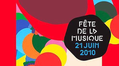 L'ffiche de la 29ème Fête de la musique(Crédits : Sylvia Tournerie)