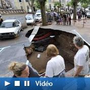 Var : les images vidéo du désastre