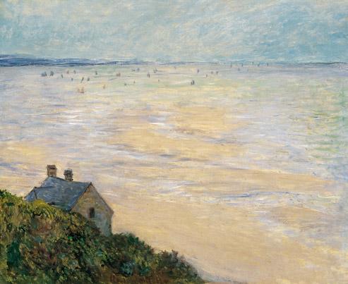 La Cabane à Trouville de Claude Monet à Trouville, 1881 (© Musée Thyssen-Bormenisza, Madrid /Photo José Loren)