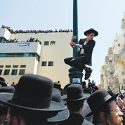 Les ultraorthodoxes défient Israël
