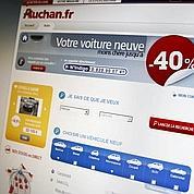 Web : Auchan vend maintenant des voitures