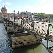 Pont des Arts. (Ph: J.Suyker/ Le Figaro)
