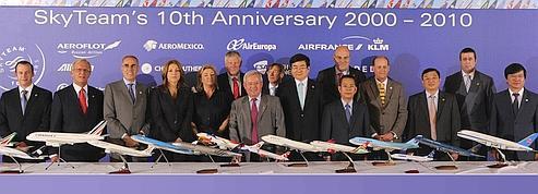 SkyTeam place ses pions en Asie et en Afrique